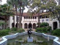 McNay patio - Picture of McNay Art Museum, San Antonio ...