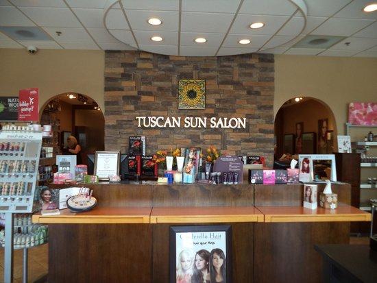 Salon Front Desk - Picture of Tuscan Sun Spa  Salon, Clarksburg