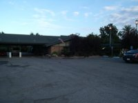 Lamp Liter Inn from parking lot - Picture of Lamp Liter ...