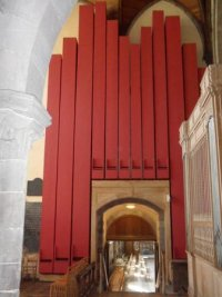 St David's wooden organ pipes. - Picture of St. Davids ...
