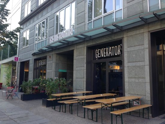 Generator Hostel Mitte Frente - Picture Of Generator Hostel Berlin Mitte, Berlin