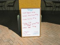 Specials of the Day - Picture of Square Plate Restaurant ...