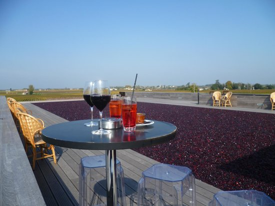 La Terrasse Rouge The Red - Photo De La Terrasse Rouge, Saint-emilion