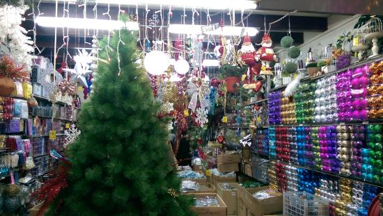 Christmas Decorations on sale in Arab Street - Picture of Arab - christmas decor on sale