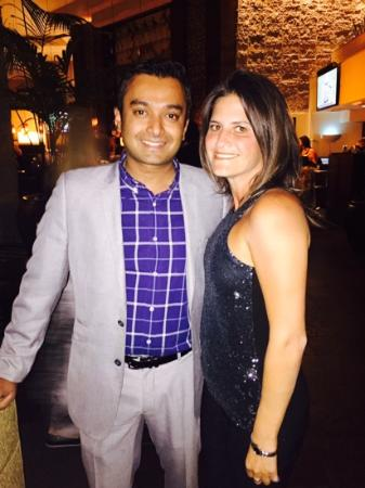 Catering Manager-Rahjad with Birthday Girl - Picture of Hyatt