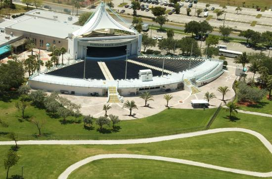 Amphitheater is located in Pompano\u0027s Community Park - Picture of