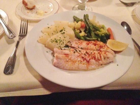 Broiled Red Snapper And Steamed Veggies Picture Of Red