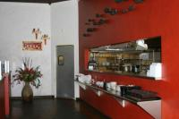 Contemporary Restaurant Kitchen Window Back Wall I Inside ...