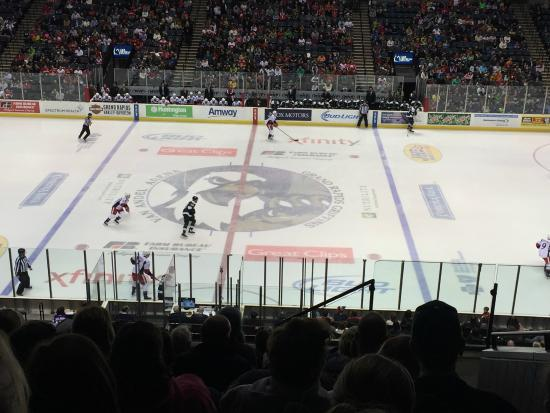 Griffins game - Picture of Van Andel Arena, Grand Rapids - TripAdvisor