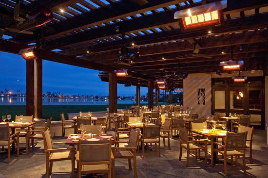 Oceana Coastal Kitchen Patio Picture Of Catamaran Resort