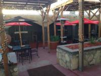Outside bar/patio area - Picture of Riviera Restaurant, El ...