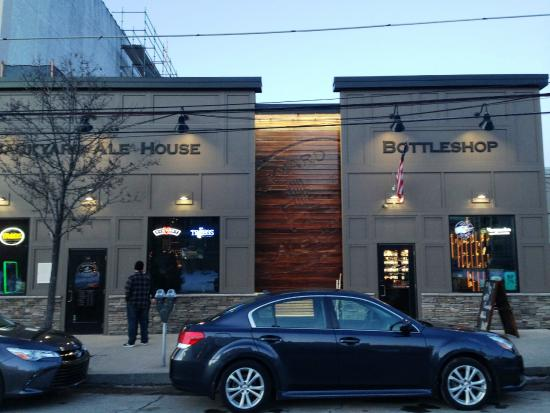 Exterior of Ale House and Bottle Shop - Picture of Backyard Ale