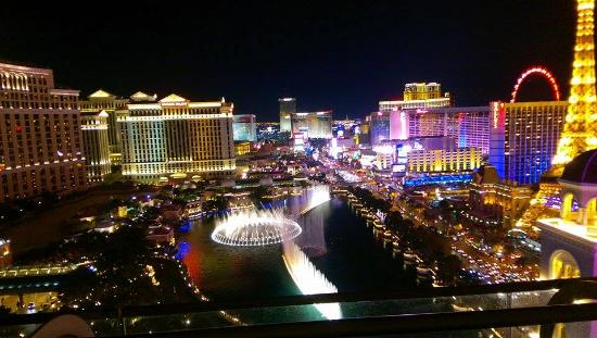 Night View From Our Balcony Picture Of The Cosmopolitan