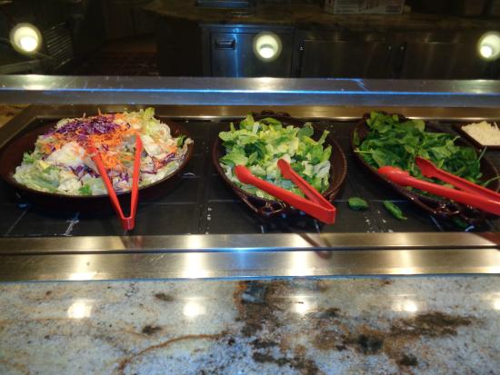 Salad Bar - Picture of Fresh Market Square Buffet, Laughlin