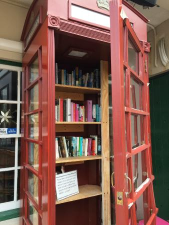Phone booth Library - Picture of CV Cafe, St George - TripAdvisor