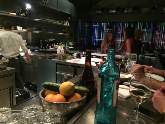 Die offene Küche der  - offene kuche