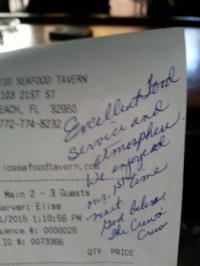 The Patio Seafood Tavern, Vero Beach - Restaurant Reviews ...