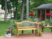 Backyard Decks for relaxing - Picture of Dockside Bed and ...