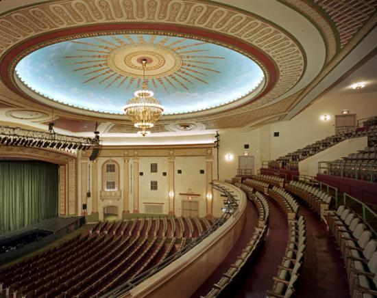 View from Balcony Seat - Picture of Count Basie Theatre, Red Bank