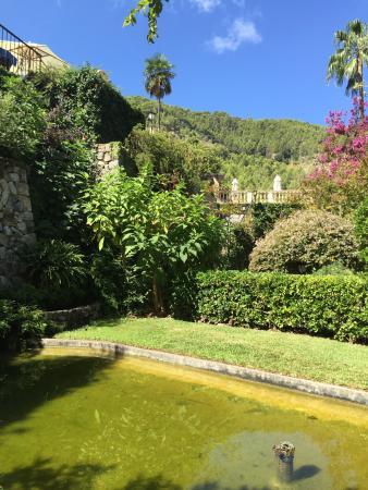 Schöner Garten, tolle Aussicht - Picture of Es Moli Hotel, Deia - schoner garten bilder