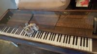 Piano keyboard coffee table! - Picture of The Mine Cafe ...