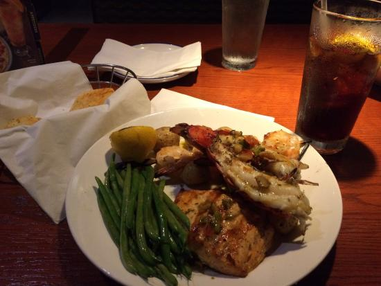 Crab fest is back and the food is excellent and the customer service - lobster customer service