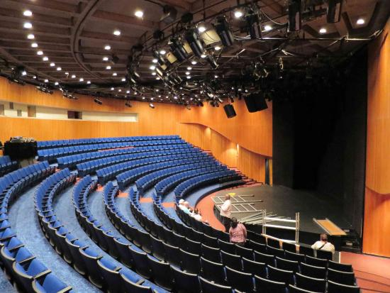 Lewis A Swyer Theatre which seats 450 - Picture of The Egg, Albany