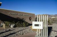 Entrance to Death Valley - Picture of Furnace Creek ...