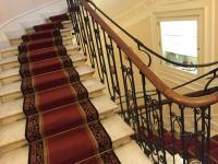Beautiful stairs inside hotel