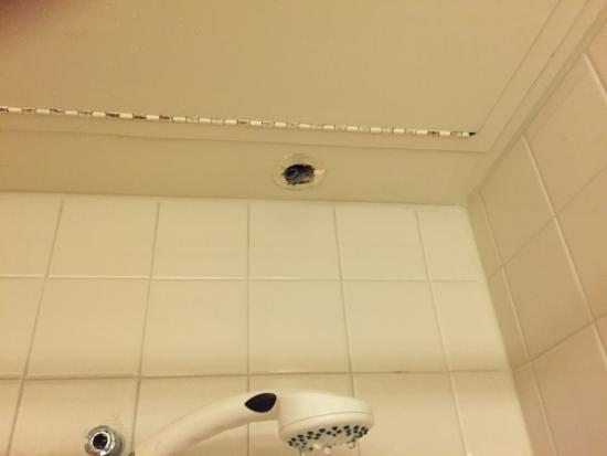 Is that a camera in the shower?