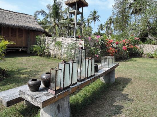 sehr schöner Garten - Picture of Manusia Dunia Green Lodge, Gili - schoner garten bilder