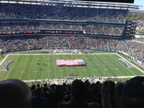 Wow best stadium ever! - Review of Lincoln Financial Field