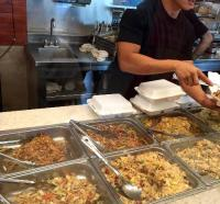The beef chow fun noodles were good! - Picture of Honolulu ...
