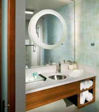 Guest Bathroom Vanity - Picture of SpringHill Suites ...
