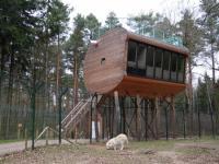2tes Baumhaus - Bild von Tree Inn Baumhaushotel, Drverden ...