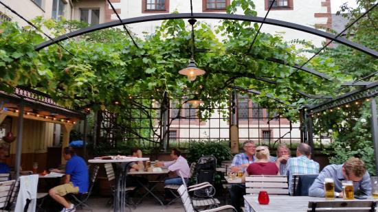 Garden Patio Picture Of Klosterhof Frankfurt Tripadvisor