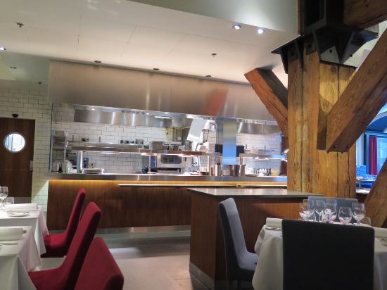 offene Küche - Picture of SALT Bar \ Restaurant, Copenhagen - offene kuche