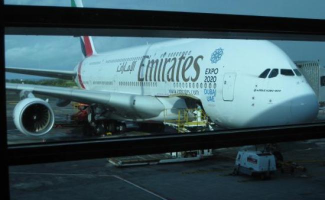A380 From Mauritius To Dubai Picture Of Emirates Tripadvisor