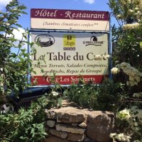 Schild - Picture of Auberge La Table du Cure, Cucugnan ...