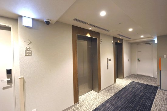 Guest Floor Elevator Hall Picture Of Hotel Unizo Ginza
