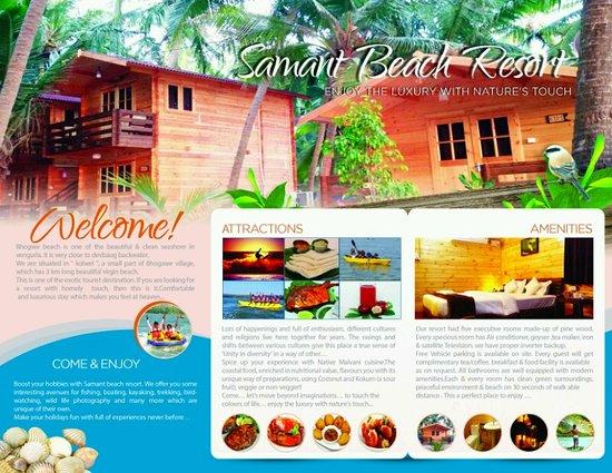 Brochure - Picture of Samant Beach Resort, Bhogwe - TripAdvisor