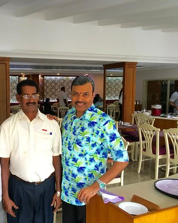 With Order Taker Thomas - Picture of Hotel Abad Plaza, Kochi (Cochin