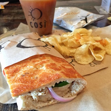 Cosi, Chicago - 116 S Michigan Ave, Downtown / The Loop - Restaurant