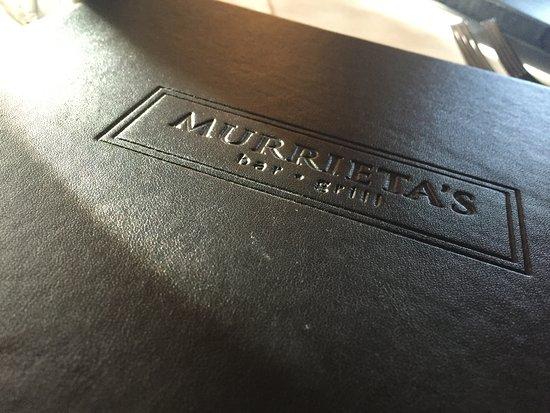 The Elegant Menu - Picture of Murrieta\u0027s Bar  Grill, Calgary