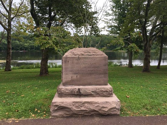 Location near where Washington crossed the Delaware River - Picture