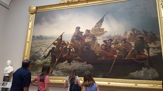 Washington Crossing the Delaware Learning the techniques to great
