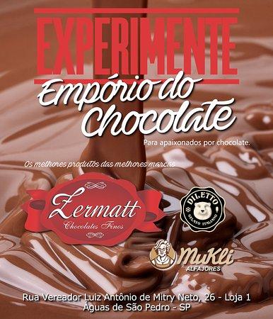 Panfleto de Divulgação - Picture of Emporio Do Chocolate, Aguas de