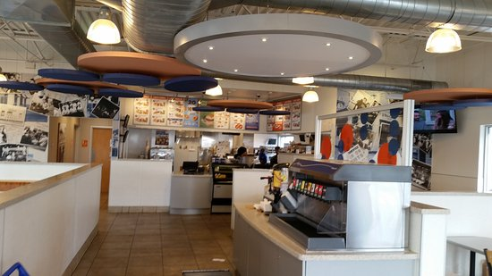 Facing order taker station - Picture of White Castle, Bowling Green