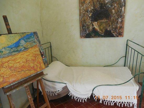 Peinture avec la chambre de Van Gogh - Picture of St Paul de - Description De La Chambre De Van Gogh