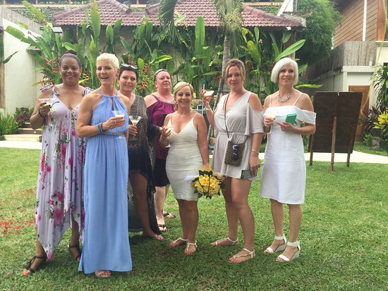 wedding guests - Picture of Astagina Resort Villa and Spa, Legian